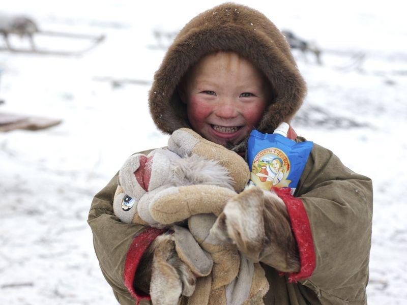 Картинки для детей дети крайнего севера